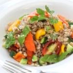 ������, ������: Spelt salad insalata di farro italian cuisine