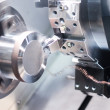 CNC Machining Milling Metal Drilling and Cutting Processing — Stock Photo #35812803