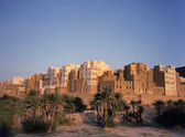 Shibam also called Manhattan of Yemen — Stock Photo