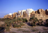 Shibam also called Manhattan of Yemen — Stockfoto