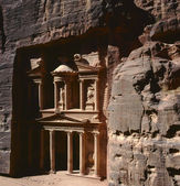 Ancient city of Petra,Jordan — Stock Photo