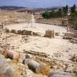 oval forum of jerash — Stock Photo #23862765