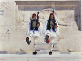 Guard change ceremony, Athens — Stock Photo