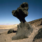 Mushroom Rock, Death Valley, California — Stock Photo