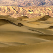 Sand dunes at sunrise  — Stock Photo
