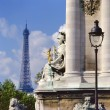 Pont Alexandre III ,Paris — Stock Photo