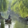 Water city of Zhouzhuang in China — Stock Photo #34854341
