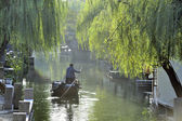 Water city of Zhouzhuang in China — Stock Photo