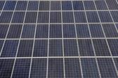 массив панели солнечных батарей — Стоковое фото