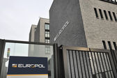 Entrance of the Europol Headquarter in The Hague, Den Haag. — Stock Photo