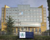 Exterior of Special Tribunal for Lebanon in Leidschendam, The Ne — Stock Photo
