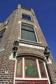 Jugendstill house in Delft — Stock Photo