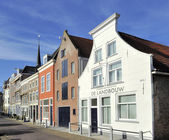 Old houses in Delft — Stock Photo