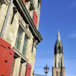 The Nieuwe Kerk in Delft — Stock Photo