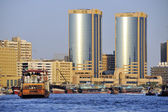 View of Dubai creek  — Stock Photo