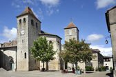 Market square of Lauzerte — Photo