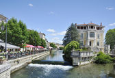 View at Isle-sur-la-Sorgue — Stock Photo