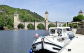 Pont Valentre in Cahors — Stock Photo