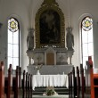Stock Photo: Catholic church interior