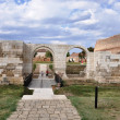 Alba-Iulia Carolina Citadel - Roman Castrum Porta Dextra — Stock Photo