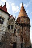 Hunyadi Castle Hunedoara - Tower — Stock Photo