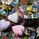 Three hearts — Stock Photo