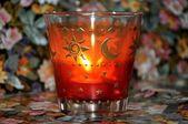 Christmas decoration - Candle — Stock Photo