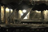 Saltmine Turda - Detail — Stock Photo