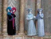 Máscaras venecianas — Foto de Stock