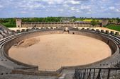 Archeological Park Xanten - Arena — Stock Photo