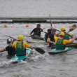Canoe polo competition — Stock Photo #33866065