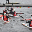 Canoe polo competition — Stock Photo #33866093