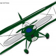 Royalty-Free Stock Vector Image: Avia B.534 Biplane Sketch