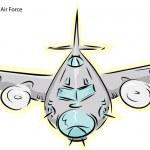 B-17G Bomber Plane — Stock Vector #16475357