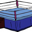 Boxing Ring — Vettoriali Stock