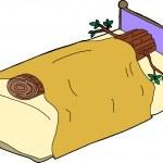 Sleeping Like a Log — Stock Vector