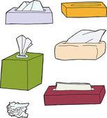 Różne obiekty sanitarno — Wektor stockowy