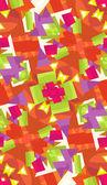 Seamless Abstract Butterflies — Stock Vector