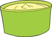 Spreadable Butter — Stock Vector
