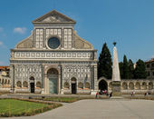 Basilica of Santa Maria Novella. Florence, Italy — Stock Photo