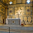 Altar of the Baptistery di San Giovanni. Florence, Italy — Stock Photo #28734259