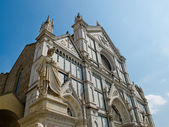 Basilica di Santa Croce. Florence, Italy — Stock Photo