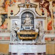 Galileo Galilei's Tomb at Basilica of Santa Croce. Florence, Italy — Foto Stock