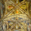 Ceiling of Castellani Chapel in Basilica di Santa Croce. Florence, Italy — Stock Photo