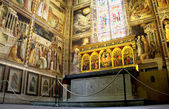 Capilla baroncelli en basílica de santa croce. florencia, italia — Foto de Stock