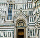 Florence Cathedral in Opera di Santa Maria del Fiore. Florence, Italy — Stock Photo