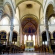 Main nave of Basilica dei Servi. Siena — Stock Photo