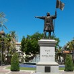 ������, ������: Cristobal Colon monument Huelva Andalucia Spain