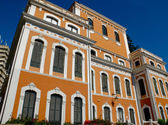 Cristobal Colon house in Huelva. (Casa Colon) Andalucia, Spain — Stock Photo