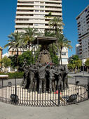 Virgen del Rocio monument. Huelva, Andalucia. Spain — Stock Photo